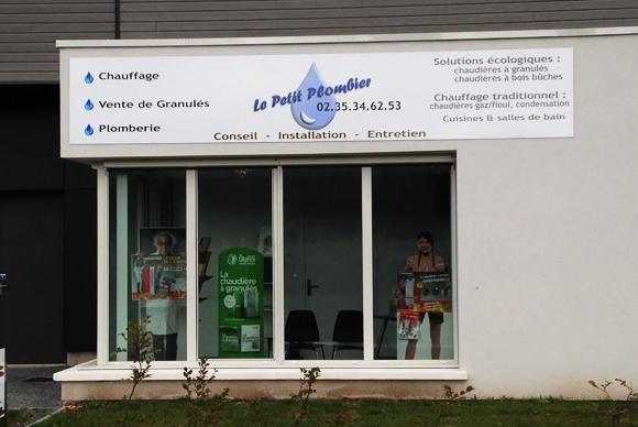 Le Local – Le Petit Plombier SARL, Pont de l'Arche (27)